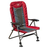 TimberRidge Ultimate Outdoor Adjustable Chair with Adjustable Legs