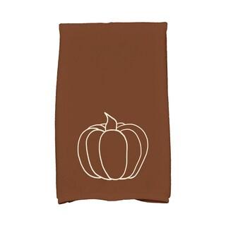 16 x 25-inch, Pumpkin Pie, Holiday Geometric Print Kitchen Towel