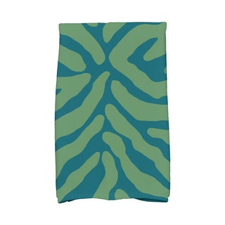 16 x 25-inch, Animal Stripe, Geometric Print Kitchen Towel