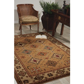 Nourison Paramount Gold Area Rug (3'11 x 5'10)