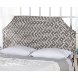 Simple Living Grey and White Stella Upholstered Headboard (2 options available)