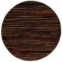 Nourison Paramount Multicolor Area Rug (5'3 Round)