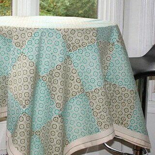 Handmade Jasmine Table Cloth (India)