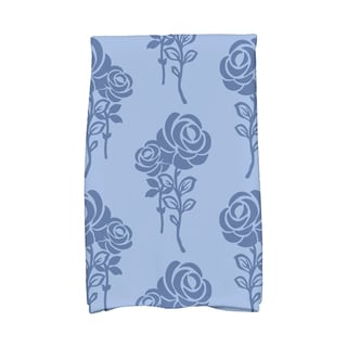 16 x 25-inch, Carmen, Floral Print Kitchen Towel