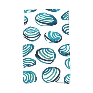 16 x 25-inch, Clams, Geometric Print Kitchen Towel