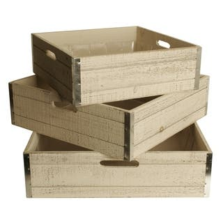 Wald Imports Large Whitewash Wood Storage Crates (Set of 3)|https://ak1.ostkcdn.com/images/products/12314089/P19147984.jpg?impolicy=medium