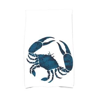16 x 25-inch, Crab, Animal Print Kitchen Towel