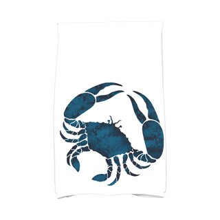 16 x 25-inch, Crab, Animal Print Kitchen Towel