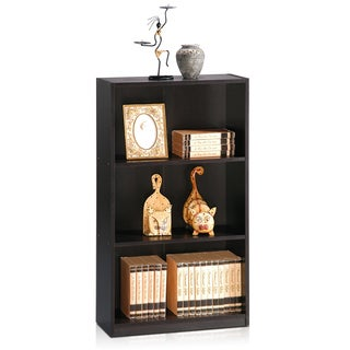 Furinno Basic 3-Tier Bookcase Storage Shelves
