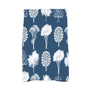 16 x 25-inch, Field of Trees, Floral Print Kitchen Towel