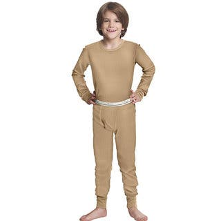 X-Temp Boys' Natural Cotton and Polyester Thermal Set|https://ak1.ostkcdn.com/images/products/12314114/P19147961.jpg?impolicy=medium