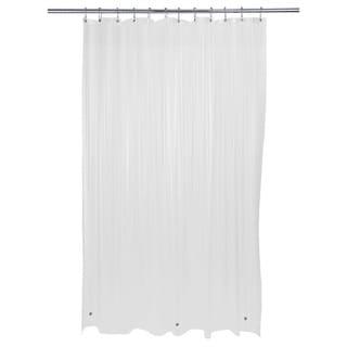 Bath Bliss Heavy Grommet Frost Shower Liner