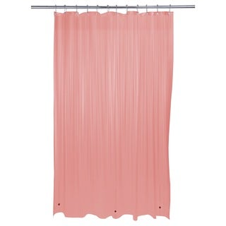 Bath Bliss Heavy Grommet Pink Shower Liner