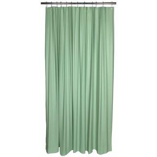 Bath Bliss Heavy Grommet Mint Shower Liner
