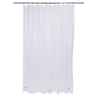 Bath Bliss Heavy Grommet Clear Shower Liner