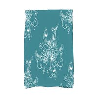 16 x 25-inch, Morning Birds, Floral Print Kitchen Towel