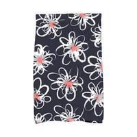16 x 25-inch, Penelope Floral, Geometric Print Kitchen Towel