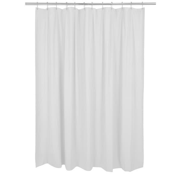 Bath Bliss Mildew Resist Liner in White