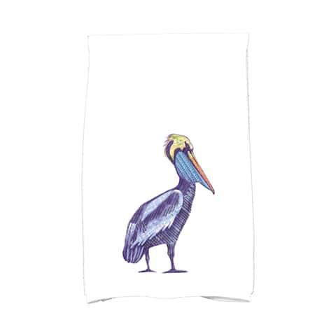 18 x 30-inch, Sea Music, Animal Print Kitchen Towel