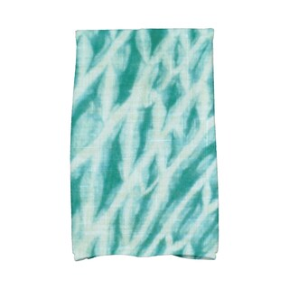 16 x 25-inch, Shibori Stripe, Geometric Print Kitchen Towel