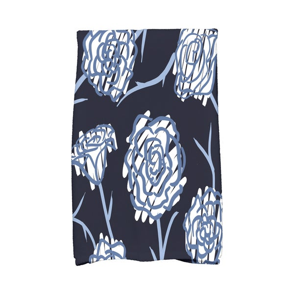 16 x 25-inch, Spring Floral 2, Floral Print Kitchen Towel