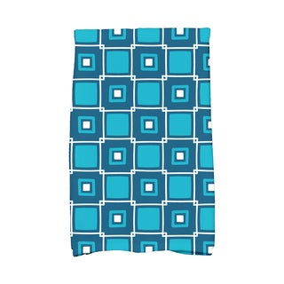 16 x 25-inch, Square Pop, Geometric Print Kitchen Towel