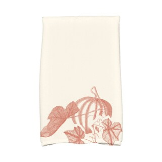 16 x 25-inch, Stagecoach, Holiday Floral Print Kitchen Towel