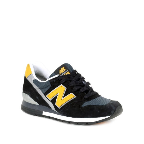 on sale 77151 ce13e New Balance Black with Yellow  amp  Silver 996 Connoisseur Retro Ski