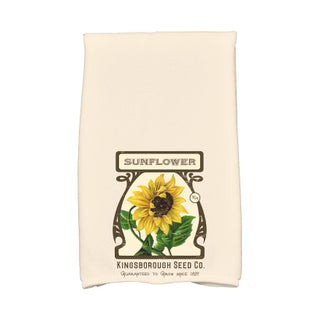 16 x 25-inch, Sunflower, Floral Print Kitchen Towel (3 options available)