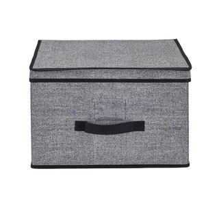 Simplify Jumbo Black Storage Box