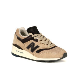New Balance Tan with Brown 997 Explore by Sea