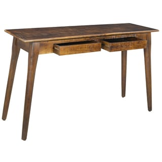 Tal 2-drawer Solid Mango Wood Console Table