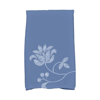 16 x 25-inch, Traditional Flower-Single Bloom, Floral Print Kitchen Towel