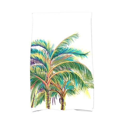 18 x 30-inch, Vacation, Floral Print Kitchen Towel