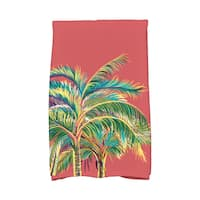 16 x 25-inch, Vacation, Floral Print Kitchen Towel