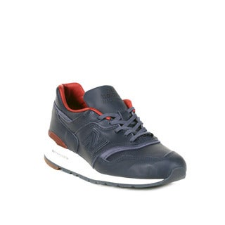 New Balance Navy with Brown 997 Explore by Sea