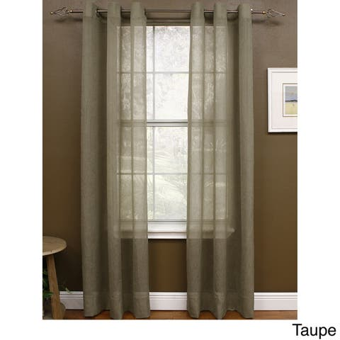 Miller Curtains Preston 108-inch Sheer Grommet Panel - 48 x 108 - 48 x 108