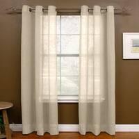 Miller Curtains Preston 108-inch Sheer Grommet Panel - 48 x 108