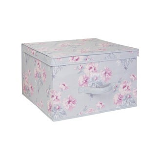Laura Ashley Jumbo Non-woven Storage Box in Beatrice