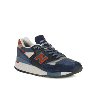 New Balance Navy & Red 998's