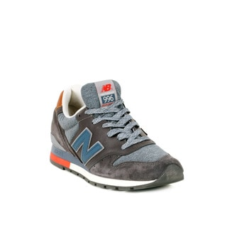 New Balance Grey with Navy 996 Ski Pack