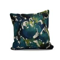 16 x 16-inch, Abstract Floral, Floral Print Outdoor Pillow