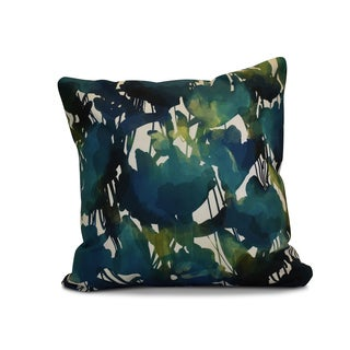 16 x 16-inch, Abstract Floral, Floral Print Pillow