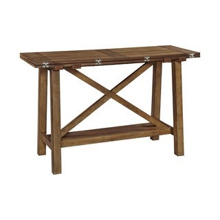 Broyhill Bethany Square Console Desk Table