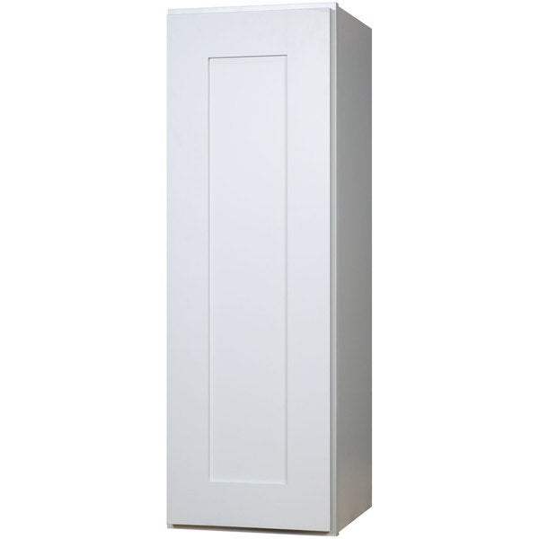 Everyday Cabinets 9 Inch White Shaker Single Door Wall