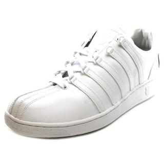 K-Swiss Men's 'Classic Vn Bl' White Leather Athletic Shoes