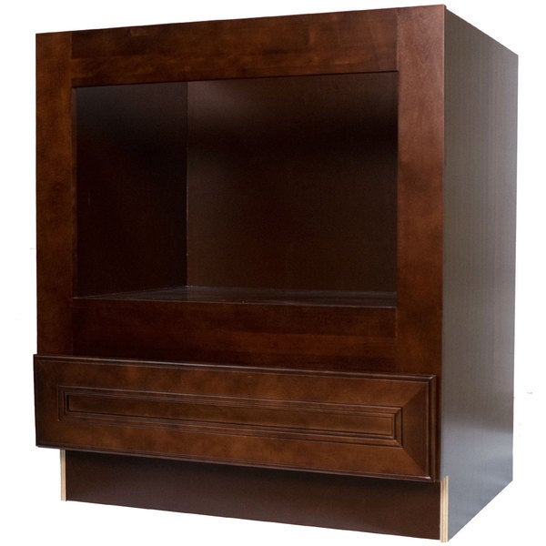 Shop Everyday Cabinets 33-inch Cherry Mahogany Brown Leo ...