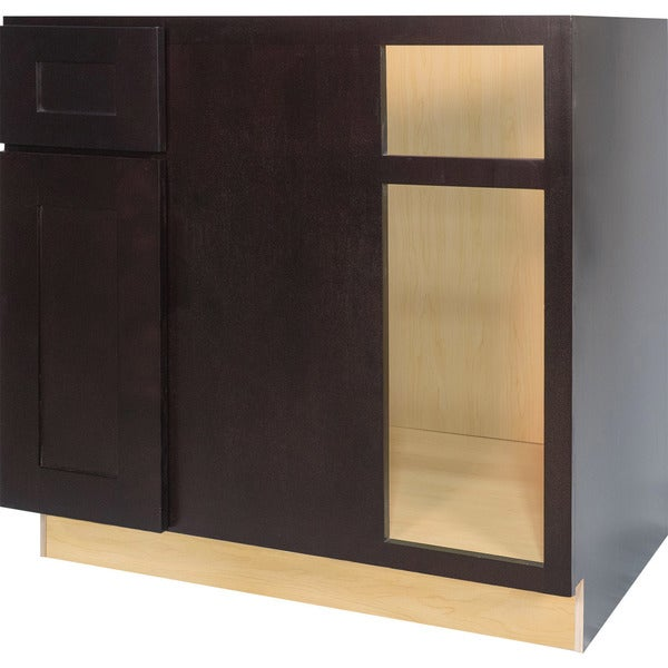 Shop Everyday Cabinets 42-inch Dark Espresso Shaker Blind ...