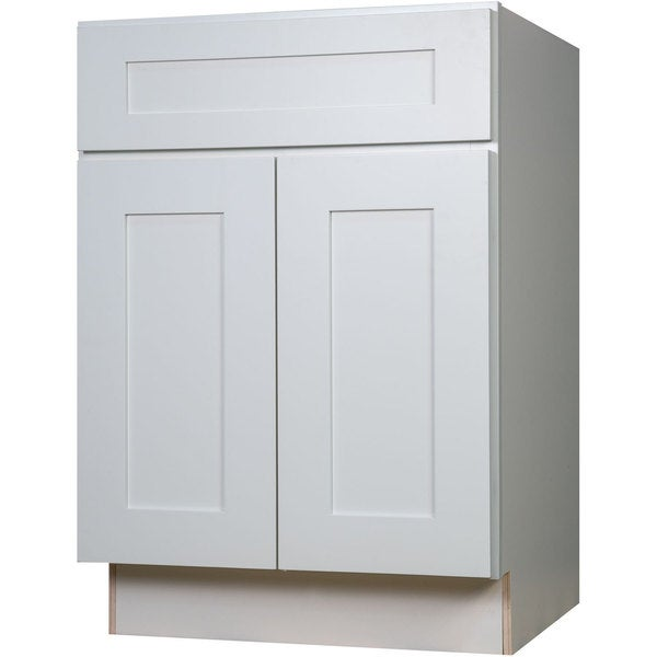 24 inch kitchen base cabinet everyday cabinets 24 inch white shaker base kitchen 7300