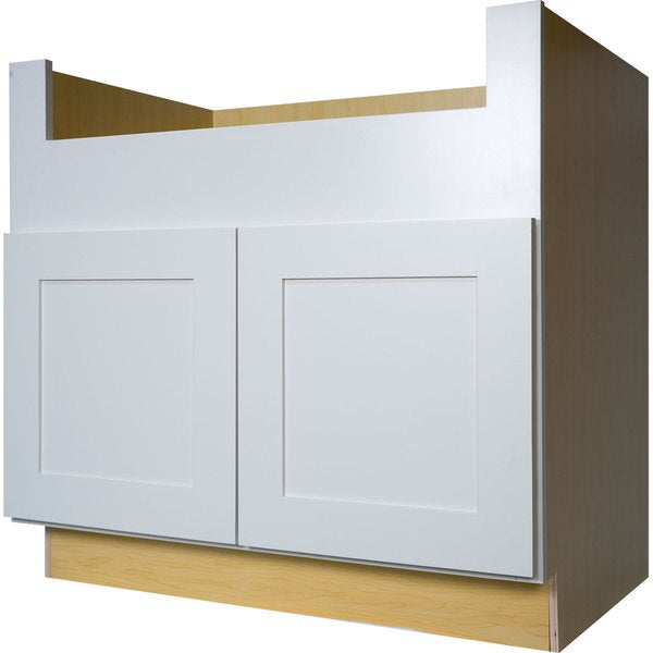 Shop Everyday Cabinets 36-inch White Shaker FarmHouse